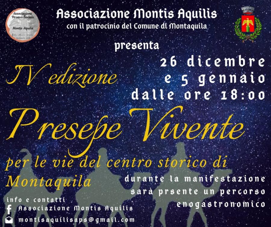 IV edizione Presepe Vivente Montaquila